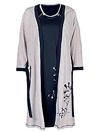 Happy Mama. Womens Maternity Hospital Gown Robe Nightie Set Labour & Birth. 773p
