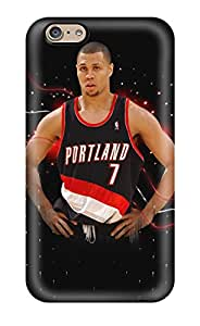 New Snap-on DanRobertse Skin Case Cover Compatible With Iphone 6- Portland Trail Blazers Nba Basketball (10)