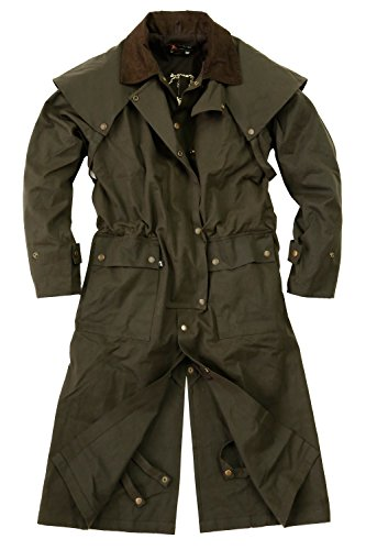 Classic Australia Oilskin Coat Workhorse Drover KTA for sale  Delivered anywhere in USA