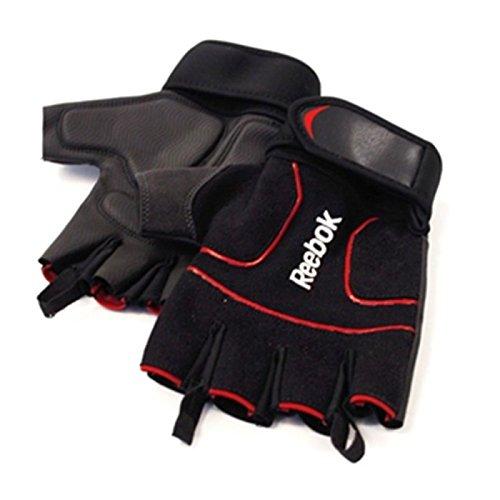 Reebok Men's Lifting Gloves - Black, Medium