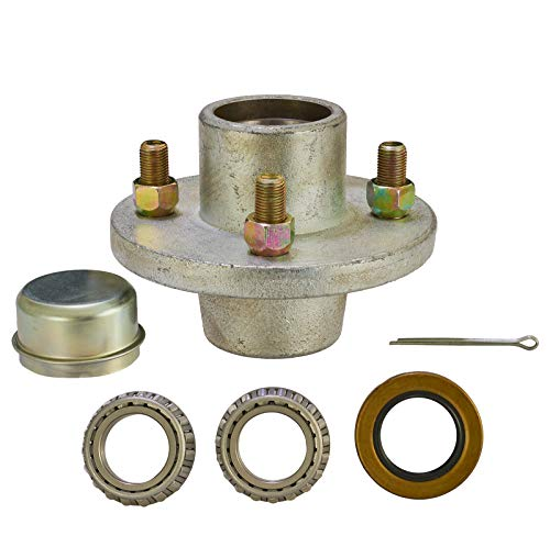 Watercraft Superstore Galvanized Trailer Hub Kit 4-Bolt hub with 1