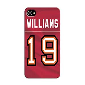 Personalized Iphone 4/4S Custom Tampa Bay Buccaneers Nfl Football Picture Hard Case