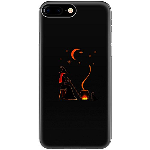 Halloween Witch And Cauldron Design Ttd1 - Phone Case Fits Iphone 6 6s 7 8