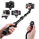 Selfie Stick, Arespark Durable Handheld Selfie Monopod Portable Selfie Pole for Gopros, DSLR, ...