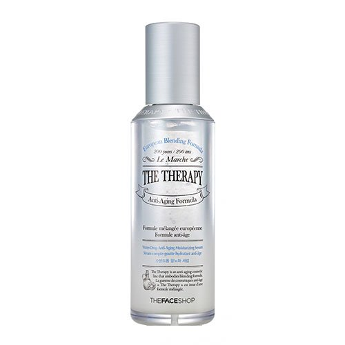 The Face Shop The Therapy Water-Drop Anti-Aging Moisturizing Serum 45ml/1.52oz (Water Therapy)