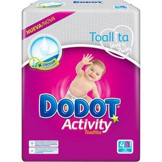 Toallitas Bebé Dodot Activity - 9 paquetes de 54 unidades
