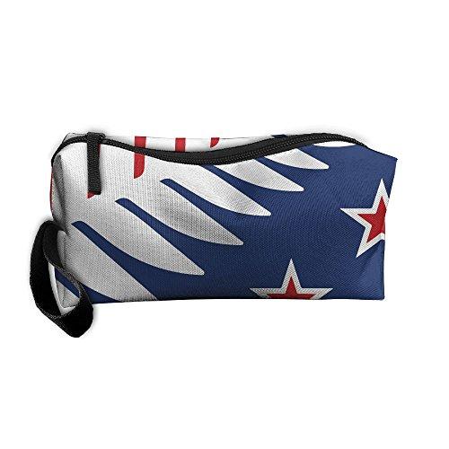 Storage Bags Toiletry Bag Clutch Bag Drug Funny Fern Nz Flag Star Small Cosmetic Bag With - Nz Tiffany
