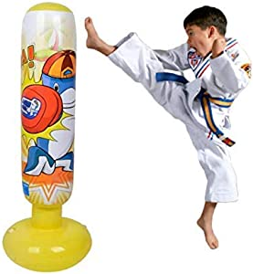 Sweepstakes: Mapow Children's Inflatable Punching Bag [uprgraded Version]-Premium…