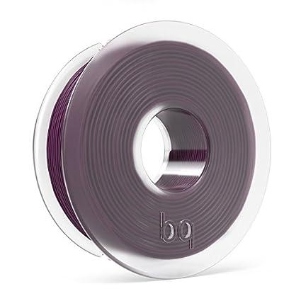 BQ - Filamento PLA de diámetro 1.75 mm, 300 g, Color Aubergine