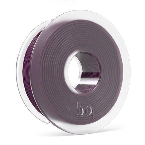 BQ F000112 – Filamento PLA de diámetro 1.75 mm, 300 g, color aubergine