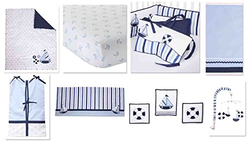 Little Sailor 10 Crib Set product image