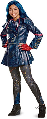 Evie And Mal Costumes (Girl's Prestige Disney Descendants 2 Isle Look Evie Costume Bundle Small 4-6x)