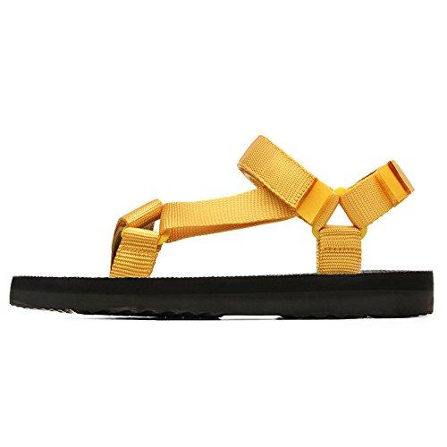 da casual spiaggia uomo pantofole Sandali scarpe morbido scarpe da da fondo tendenza da uomo estive Giallo paio uomo WFL scarpe di xwIaqXHa