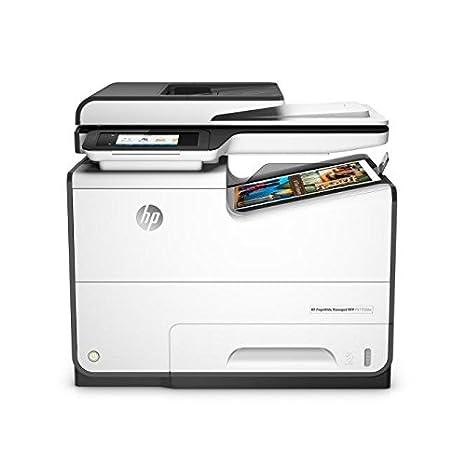 HP PageWide Managed P57750dw 2400 x 1200DPI Inyección de tinta térmica A4 50ppm Wifi Negro, Gris multifuncional - Impresora multifunción (Inyección de ...