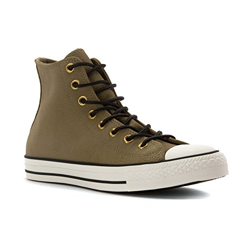 Converse Mens Chuck Taylor All Star Leather & Corduroy High Top Jute/Egret/Black 11.5 M VLzcld