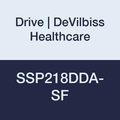 Drive DeVilbiss Healthcare SSP218DDA-SF Silver Sport 2 Wheelchair, Height 36''