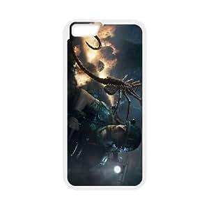 Aliens Colonial Marines 3 Funda iPhone 6 Plus 5.5 pulgadas del teléfono celular Caso Blanco cajas del teléfono único Y3L7TJ
