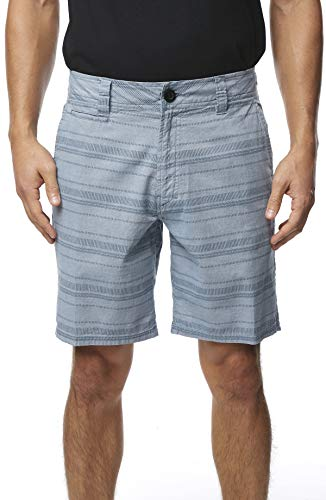 O'Neill Men's Standard Fit Walk Short, 19 Inch Outseam (Captains Blue/Bateman, 34)