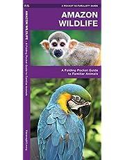 Amazon Wildlife: A Folding Pocket Guide to Familiar Animals