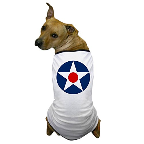 CafePress - US Army Air Corps Roundel (1926) - Dog T-Shirt, Pet Clothing, Funny Dog Costume