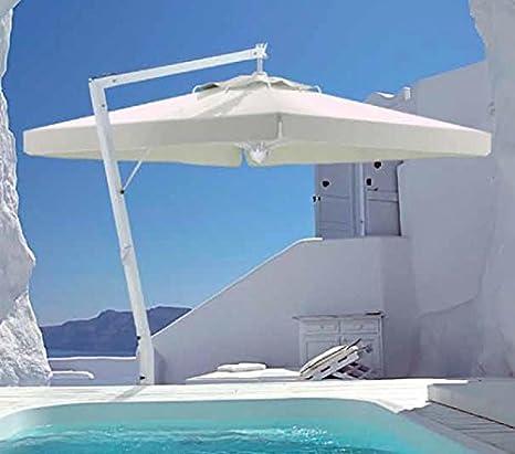 Sombrilla – Napoli redondo 3.5 M acrílico dralón 350 g/m2 + pie ...