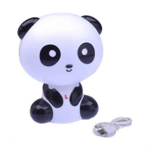 Lovely Cartoon Kungfu Panda Shape USB Notebook Lamp Desk Lamp Light