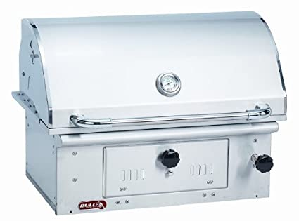 Bull Outdoor Products 67529 Bison Charcoal Stainless Steel Grill Head