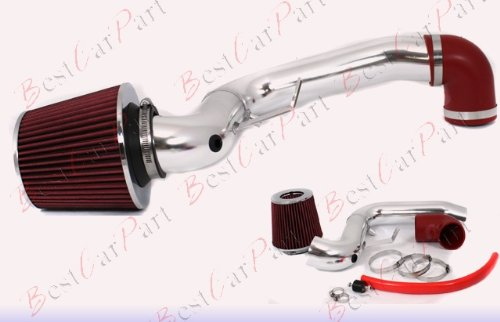 95 96 97 98 99 00 01 02 03 04 05 Pontiac Sunfire SE/GT 2.3L/2.4L Cold Air Intake + Red Filter CCH1R (95 96 Pontiac Car Sunfire)