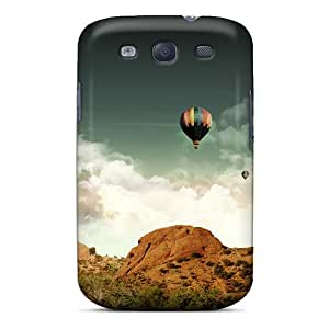 Premium Durable Balloons In The Air Fashion Tpu Galaxy S3 Protective Case Cover
