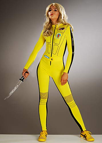Struts Disfraz de Mono Amarillo Kill Bill para Mujer Medium (UK 12 ...