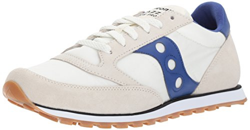 Saucony Originals Jazz Lage Pro Sneaker Crème Blauw