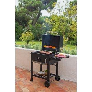 American charcoal smoker BBQ