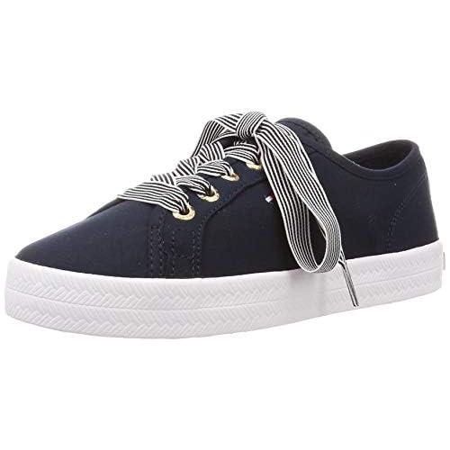 chollos oferta descuentos barato Tommy Hilfiger Essential Nautical Sneaker Zapatillas para Mujer Azul Desert Sky Dw5 42 EU