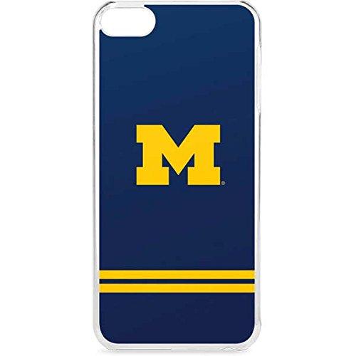 Skinit University of Michigan iPod Touch 6th Gen LeNu Case - Michigan Logo Striped Design - Premium Vinyl Decal Phone -