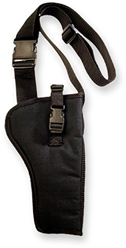 Bulldog Cases Right Hand Black Bandolier Holster Size 14 (Fits Most Revolvers with 5 - 6 1/2-Inch Barrels, S & W K,L,N Frame)