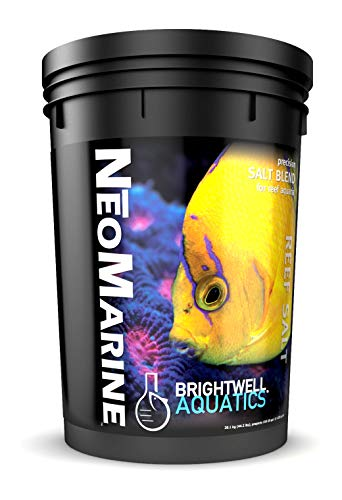 Brightwell Aquatics ABANMAR150 Neomarine Marine Salt for Aquarium, 150-Gallon