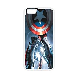 Custom High Quality WUCHAOGUI Phone case Caption American Pattern Protective Case For Apple Iphone 6,4.7