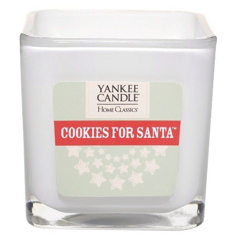 Yankee Candle Cookies for Santa Small Square Candle
