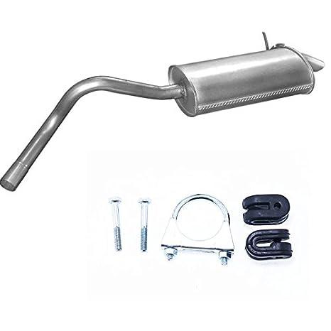 - Silenciador trasero Escape Renault Kangoo 1.5/1.9 DCI/DTI Turbo Diesel + Montaje Ware: Amazon.es: Coche y moto