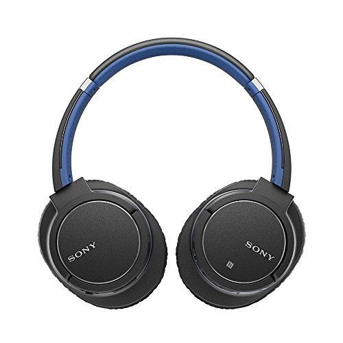 Sony MDR-ZX770BN Bluetooth Noise Canceling Headphones (Blue)-NEW