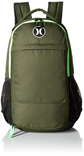 Hurley Men's Fusion Backpack, Carbon Voltage Green/White, One Size