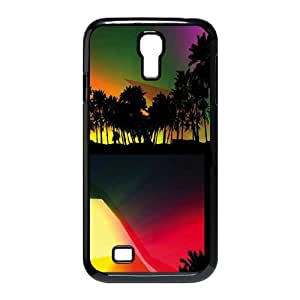 Samsung Galaxy S4 9500 Cell Phone Case Black Hard Sun SLI_697648