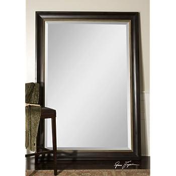 Walnut Framed Full Length Mirror