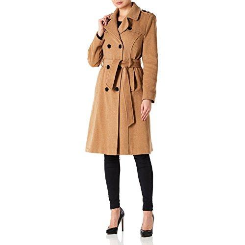 Et Anastasia Cachemire Camel En Femme Long Laine Trench Ceinturé coat Pour wFHrFXYUq