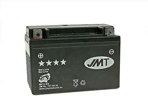 Batterie Jmt Gel Ytx9 12 Volt Piaggio Vespa Et4 125 Leader M1900 Jahr Der Konstruktion 2000 2004 Auto