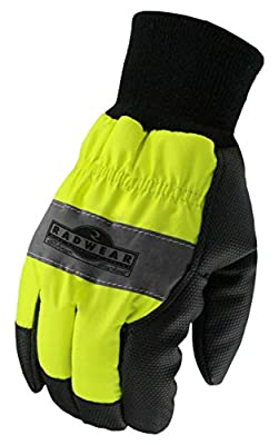 Radians, Inc. RWG800L Radians Rwg800 Radwear Silver Series Hi-Visibility Thermal Lined Glove, Large