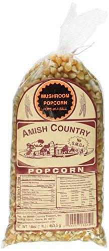 Amish Country Popcorn Mushroom Popcorn - 2# (Two 1# Bags)
