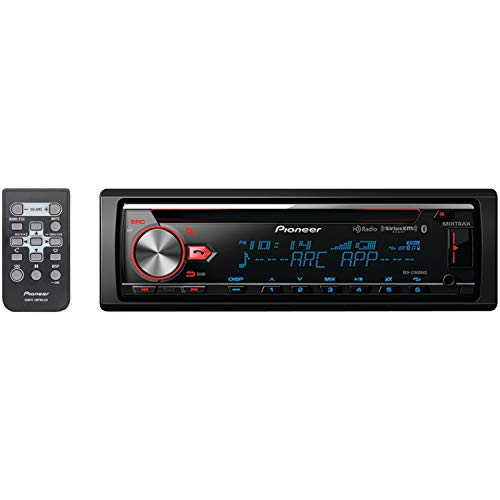 PIONEER DEH-X7800BHS Single-DIN In-Dash CD Receiver with MIX