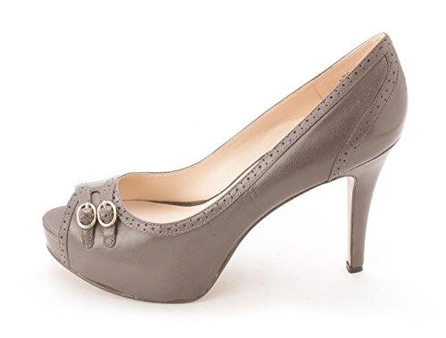 Nine West - Zapatos de vestir para mujer gris