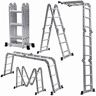 MULTI-FUNCTION LADDER 4X3: Amazon ae: Safinat Group